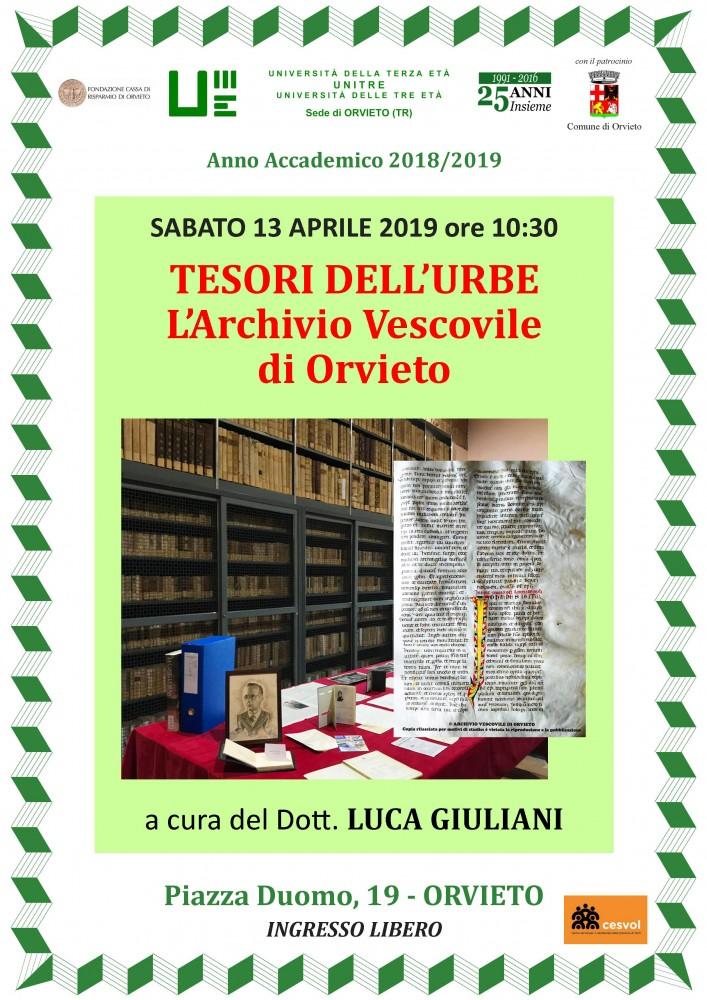 tesori dell'urbe archivio vescovile