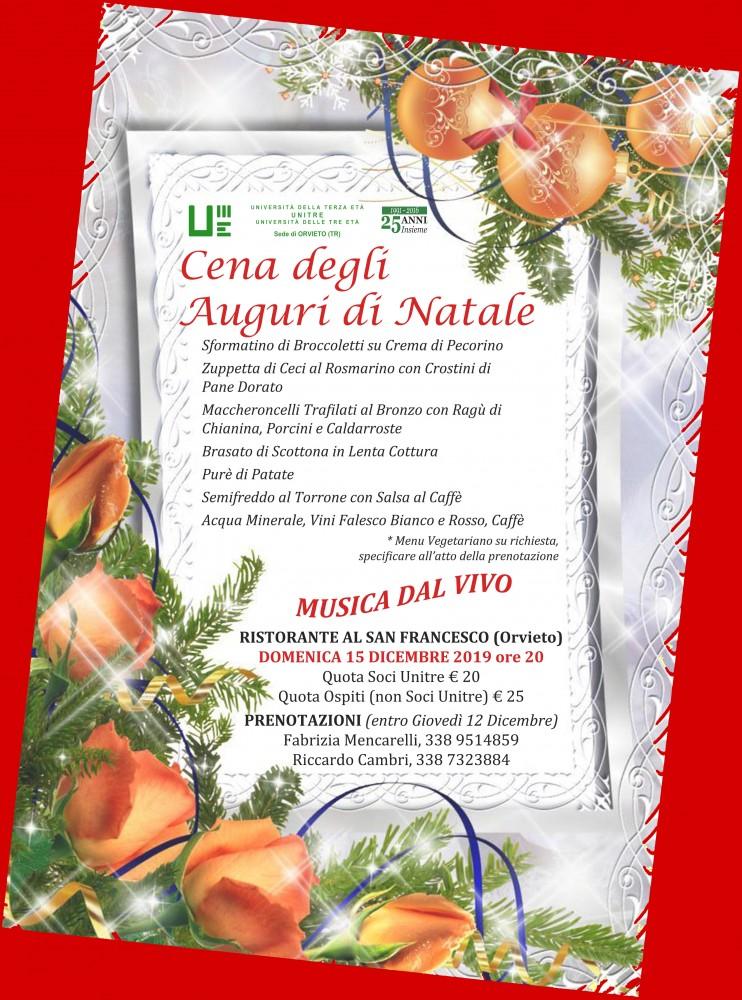 cena auguri di Natale