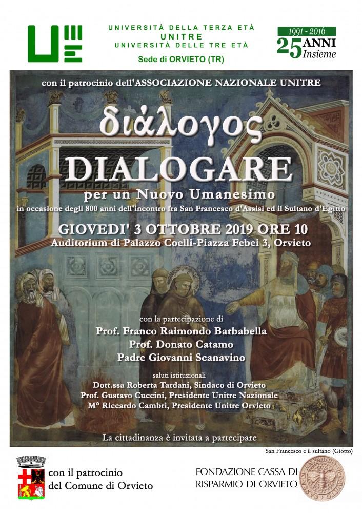 locandina Dialogare