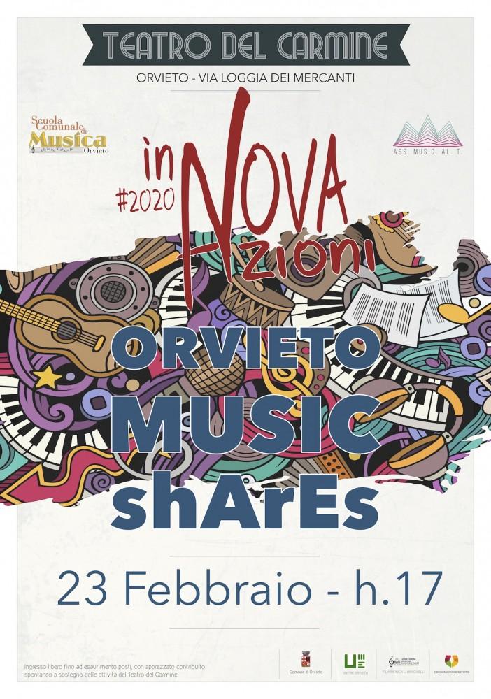orvieto music shares